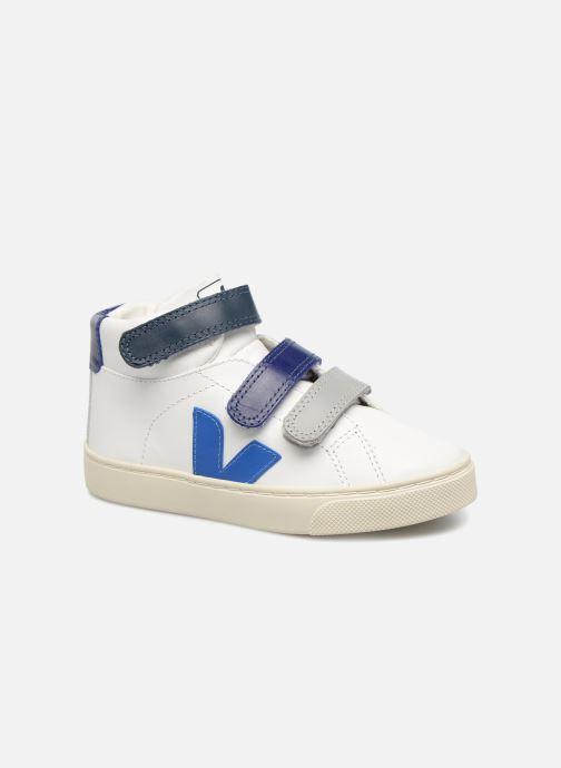 Trainers Veja Esplar Mid Small Velcro Beige detailed view/ Pair view