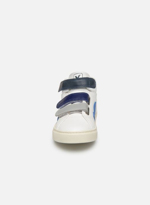 Trainers Veja Esplar Mid Small Velcro White model view