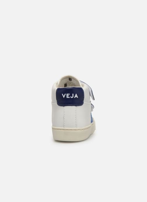 Trainers Veja Esplar Mid Small Velcro White view from the right