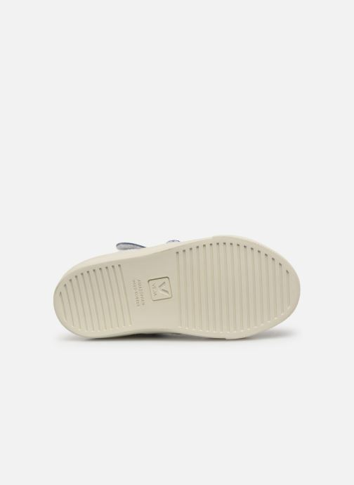 Trainers Veja Esplar Mid Small Velcro White view from above