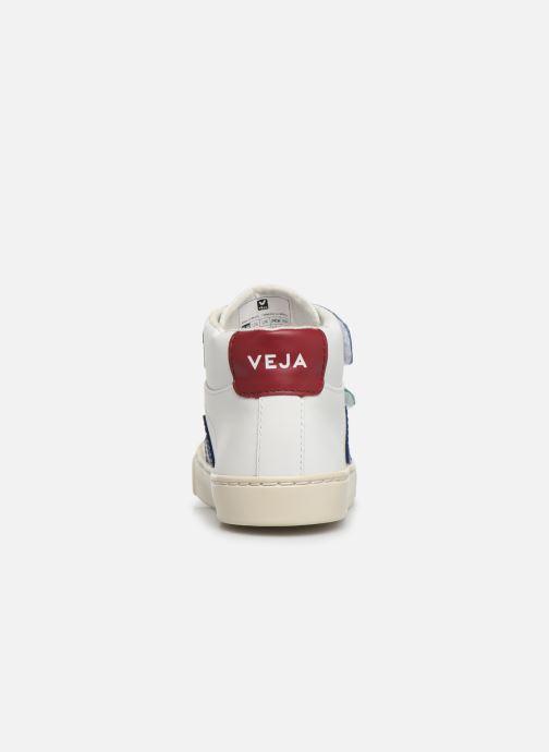 Deportivas Veja Esplar Mid Small Velcro Blanco vista lateral derecha