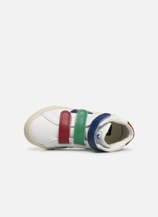 Sneakers Veja Esplar Mid Small Velcro Bianco immagine sinistra