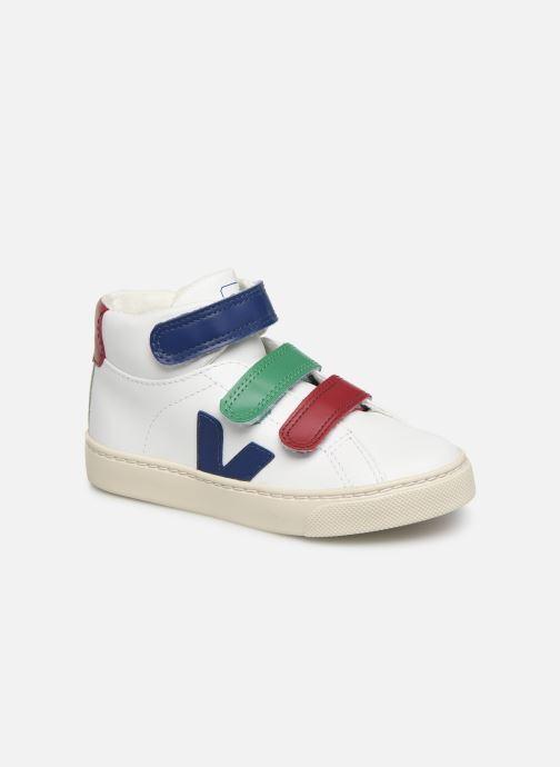 Sneakers Veja Esplar Mid Small Velcro Bianco vedi dettaglio/paio