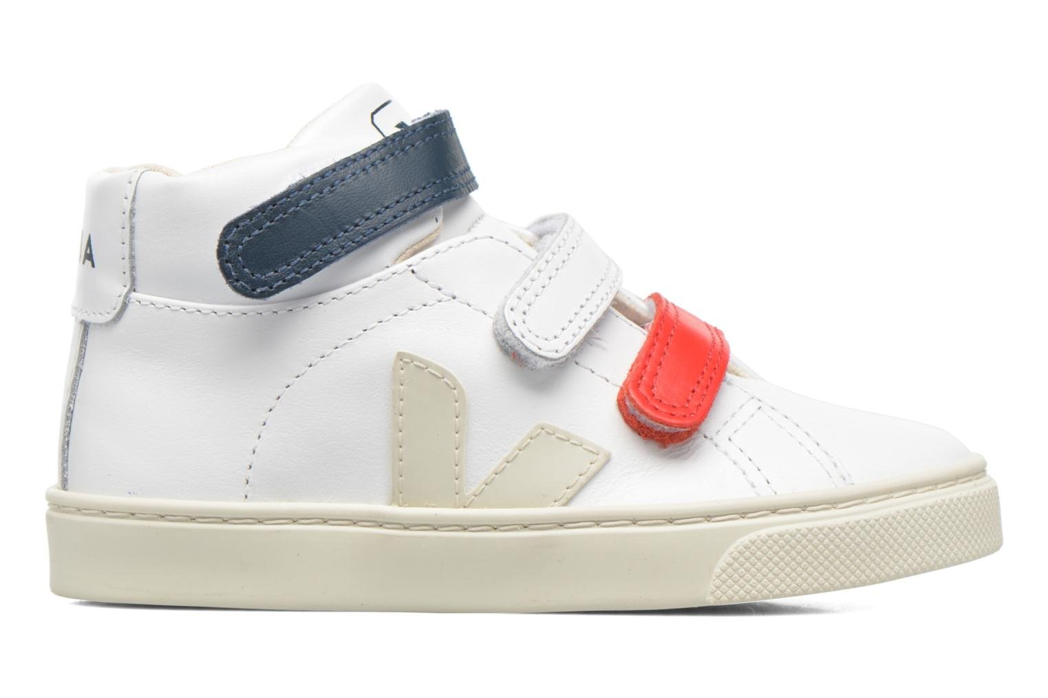 Trainers Veja Esplar Mid Small Velcro White back view