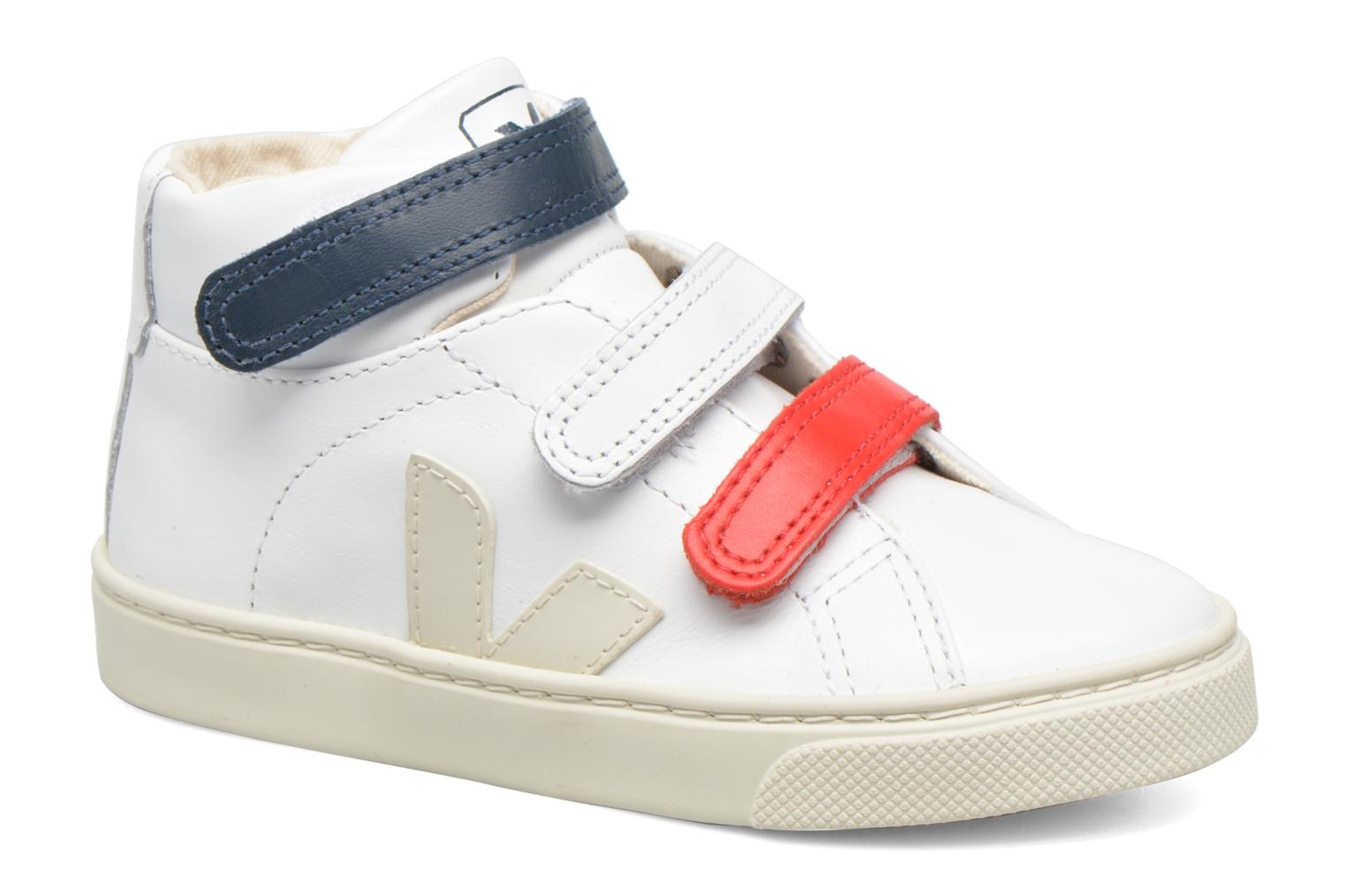 Trainers Veja Esplar Mid Small Velcro White detailed view/ Pair view