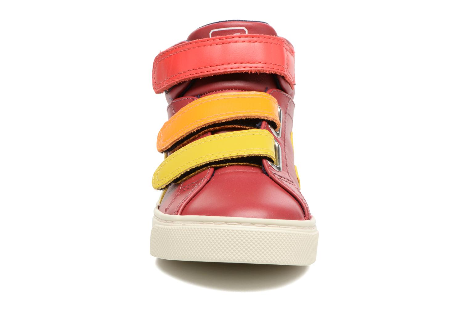 Trainers Veja Esplar Mid Small Velcro Red model view