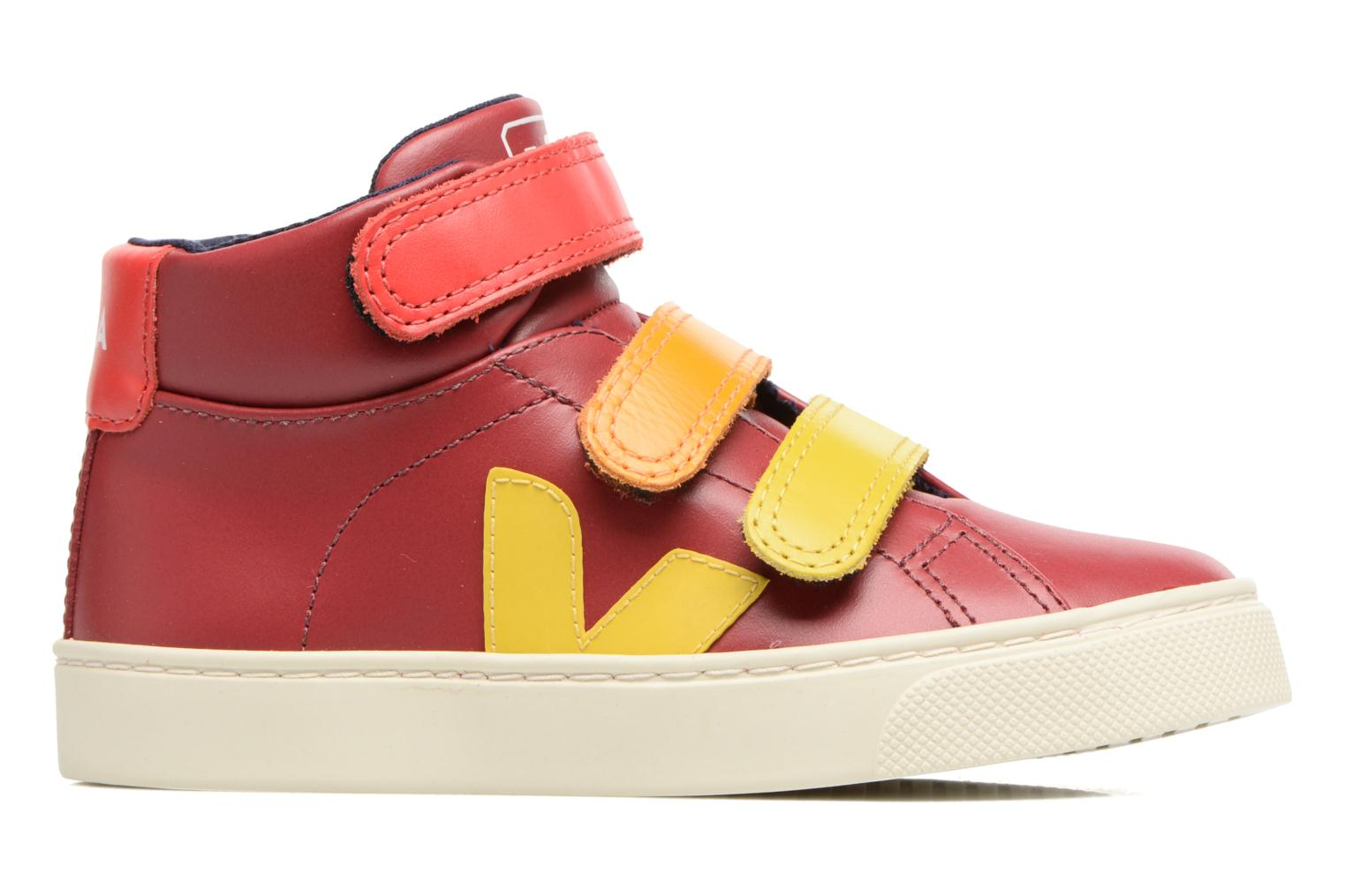 Trainers Veja Esplar Mid Small Velcro Red back view