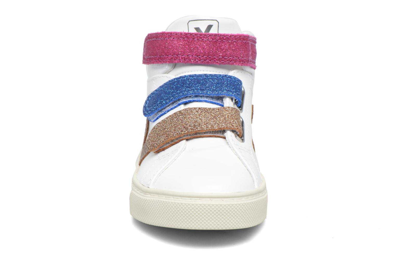 Sneakers Veja Esplar Mid Small Velcro Wit model