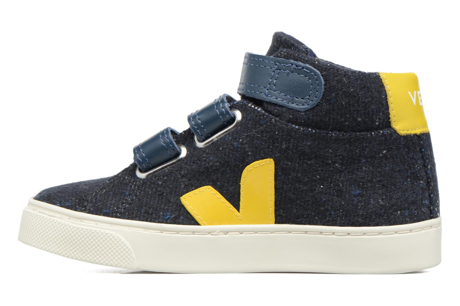 Trainers Veja Esplar Mid Small Velcro Blue front view