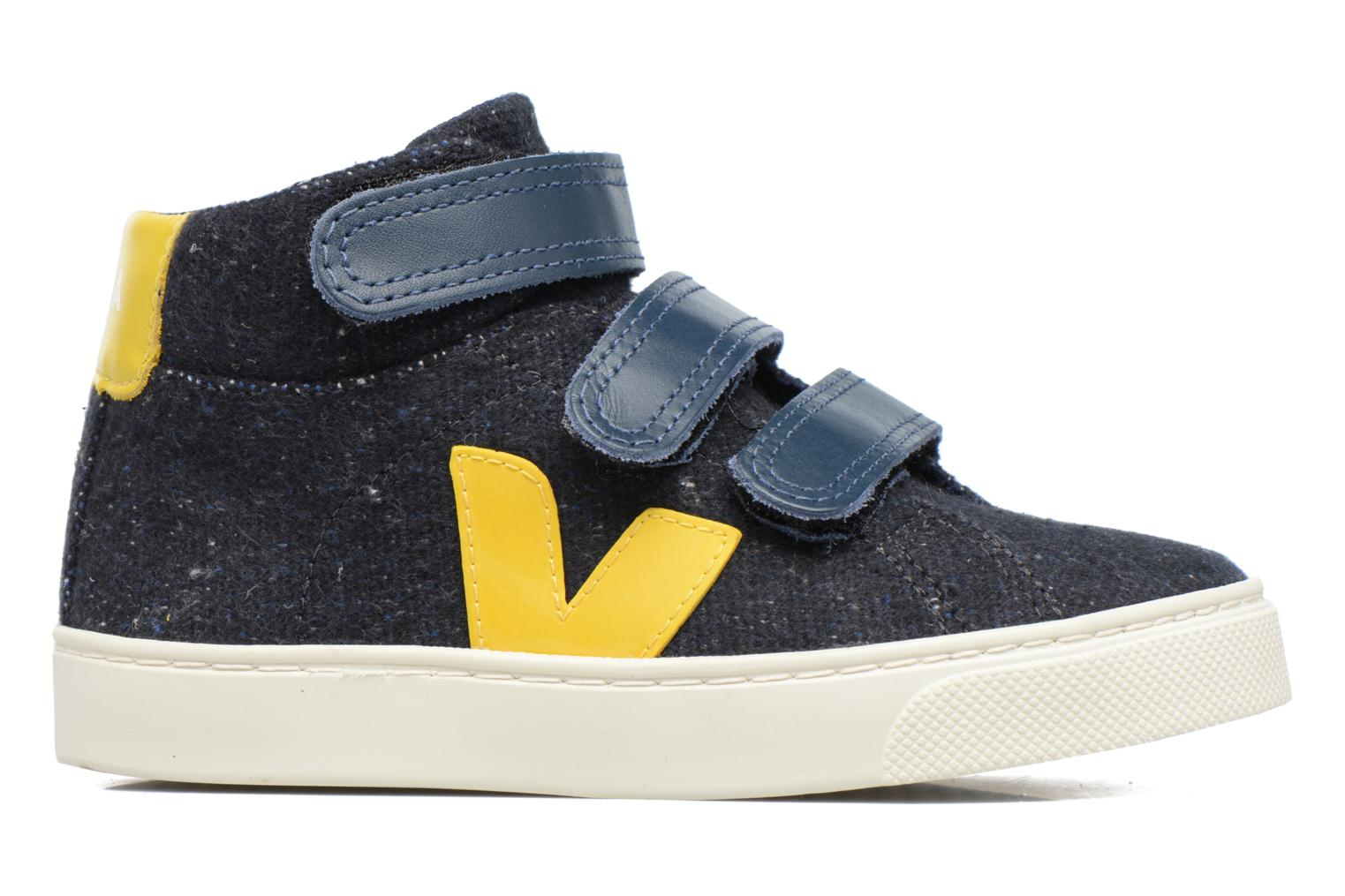 Trainers Veja Esplar Mid Small Velcro Blue back view