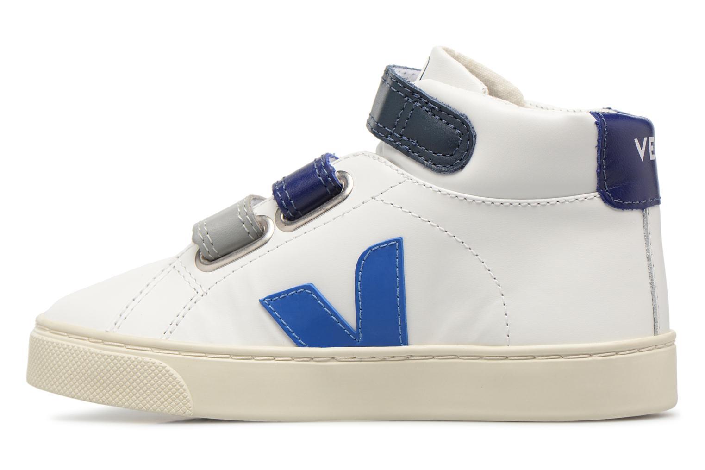 Sneaker Veja Esplar Mid Small Velcro beige ansicht von vorne