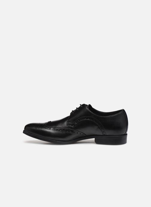 Zapatos con cordones Clarks Amieson Limit Negro vista de frente