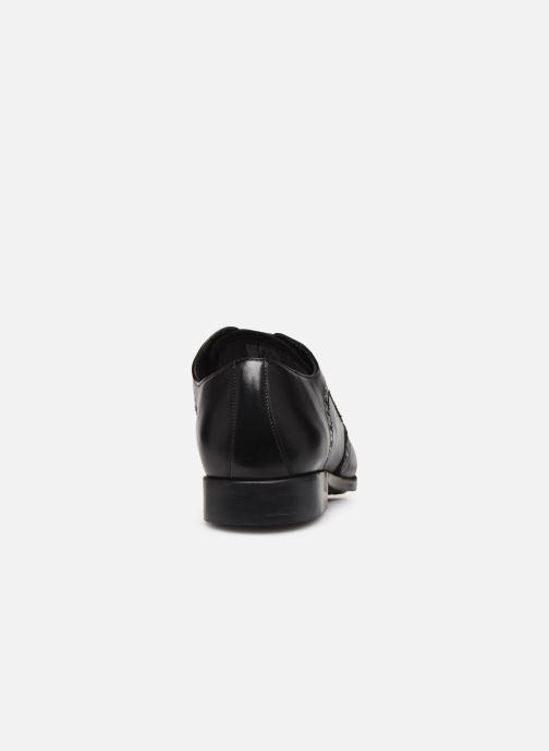 Zapatos con cordones Clarks Amieson Limit Negro vista lateral derecha