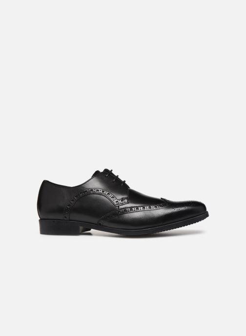 Zapatos con cordones Clarks Amieson Limit Negro vistra trasera