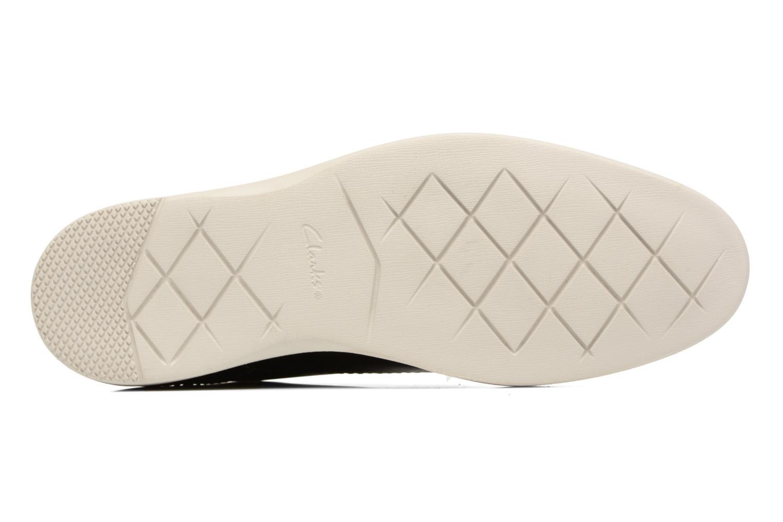 Chaussures à lacets Clarks Franson Plain Gris vue haut