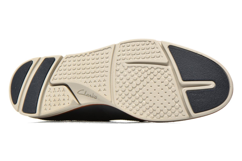Chaussures à lacets Clarks Trigen Limit Bleu vue haut