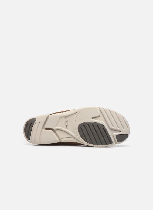 Zapatos con cordones Clarks Trikeyon Fly Marrón vista de arriba