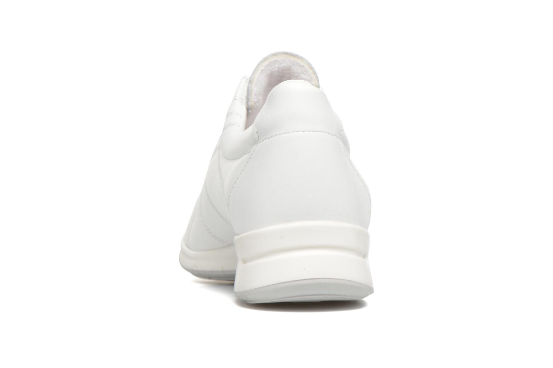 Baskets UMO Confort Denise Blanc vue droite