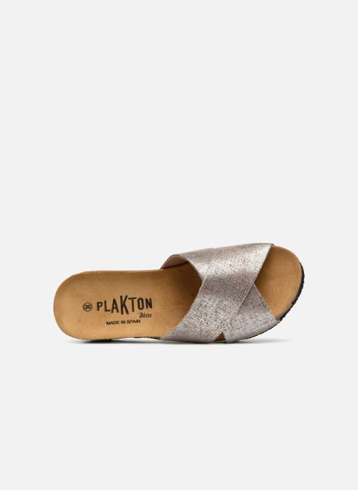 Mules & clogs Plakton So Clip Silver view from the left