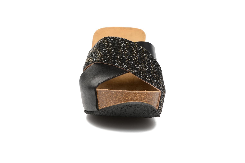 Mules et sabots Plakton So Clip Noir vue portées chaussures