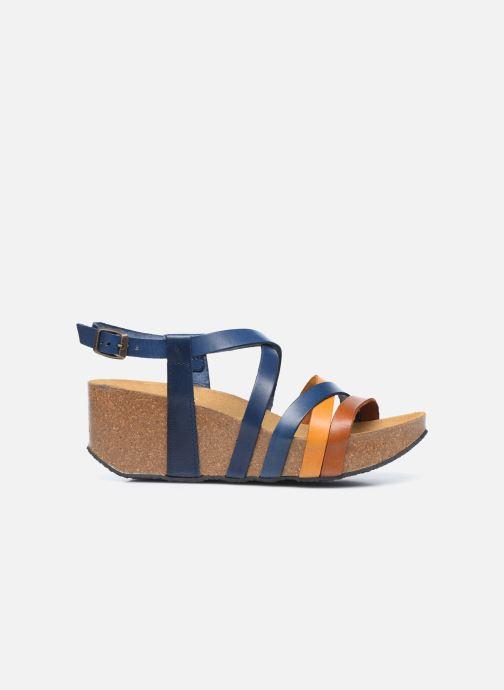 Sandales et nu-pieds Plakton So song Marron vue derrière