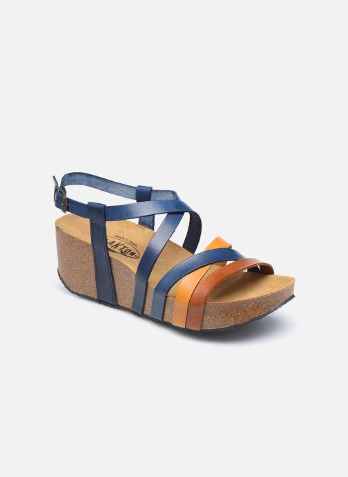 Sandales et nu-pieds Plakton So song Marron vue détail/paire