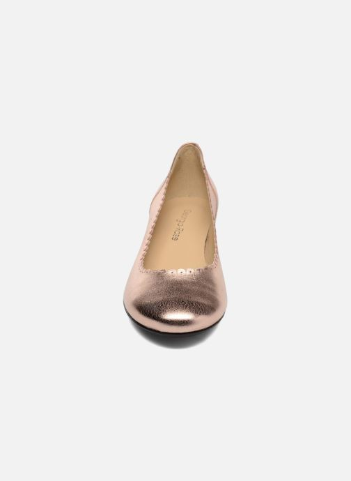 Ballerines Georgia Rose Sabby Or et bronze vue portées chaussures