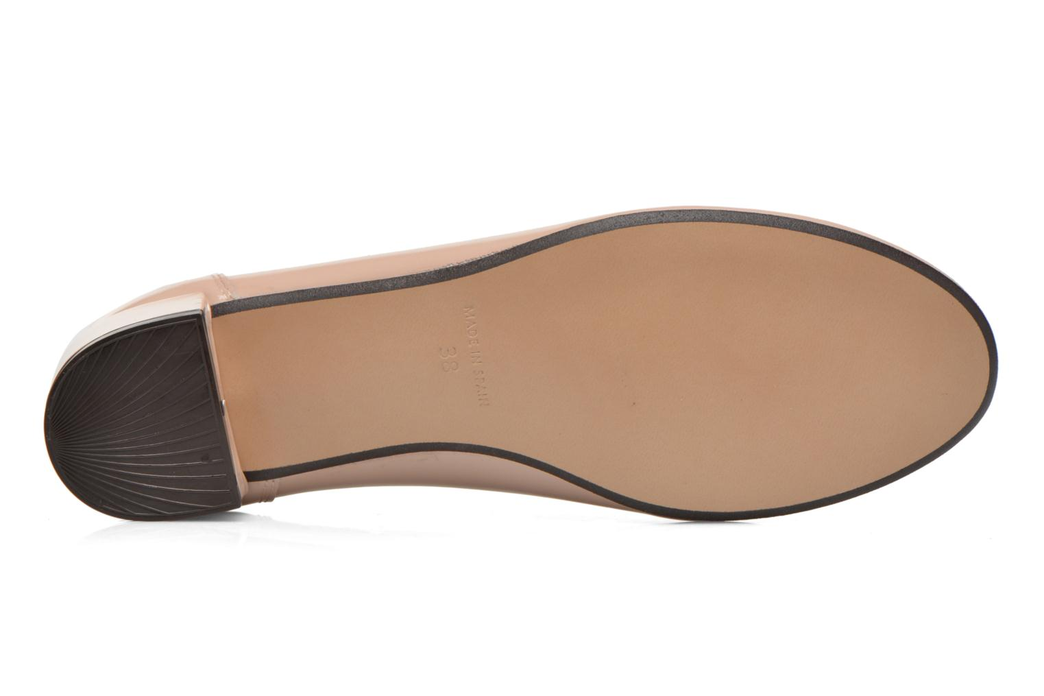 Ballet pumps Georgia Rose Sabby Beige view from above
