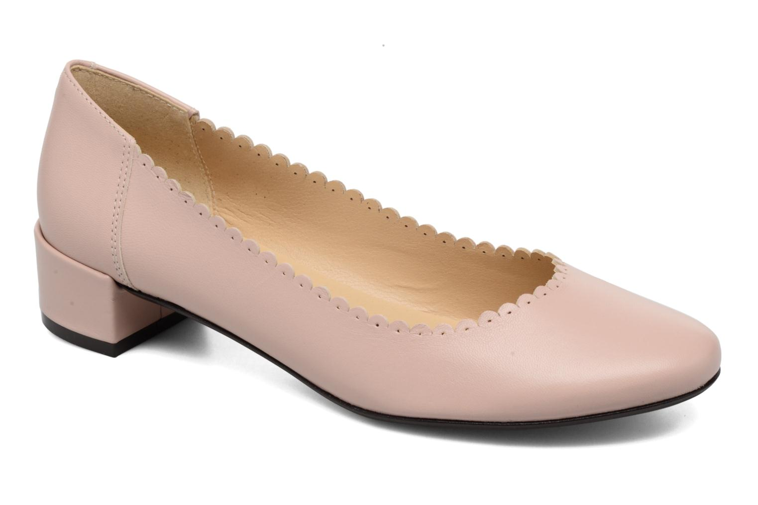 Ballet pumps Georgia Rose Sabby Beige detailed view/ Pair view