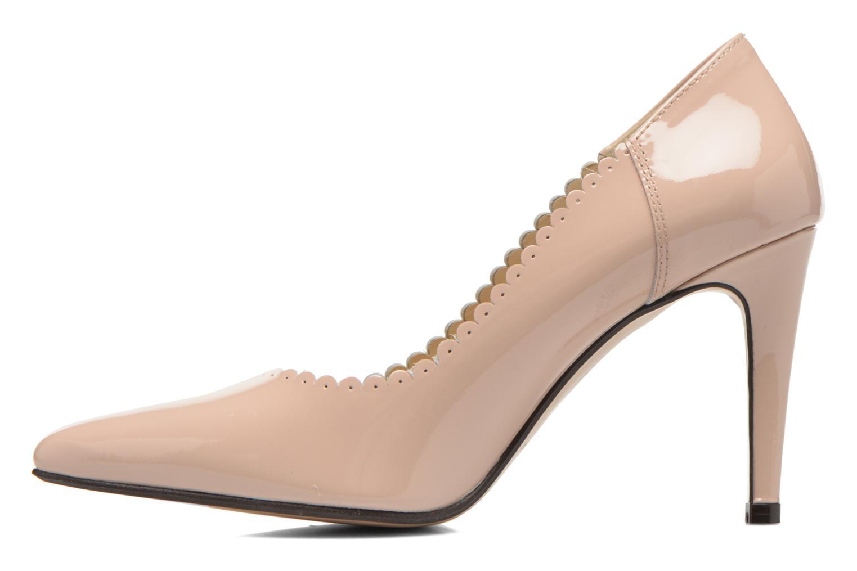 Zapatos de tacón Georgia Rose Safecto Beige vista de frente