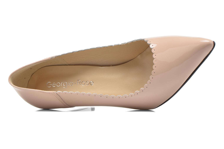Zapatos de tacón Georgia Rose Safecto Beige vista lateral izquierda
