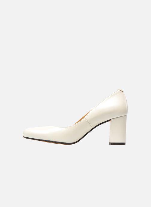 High heels Georgia Rose Santoo White front view