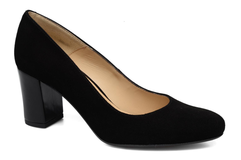 High heels Georgia Rose Santoo Black detailed view/ Pair view