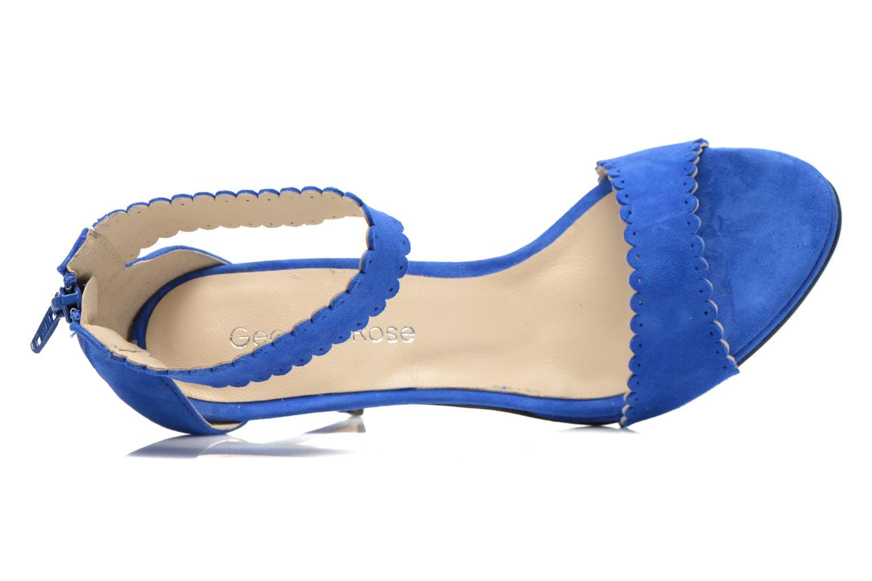 Sandales et nu-pieds Georgia Rose Sandalia Bleu vue gauche