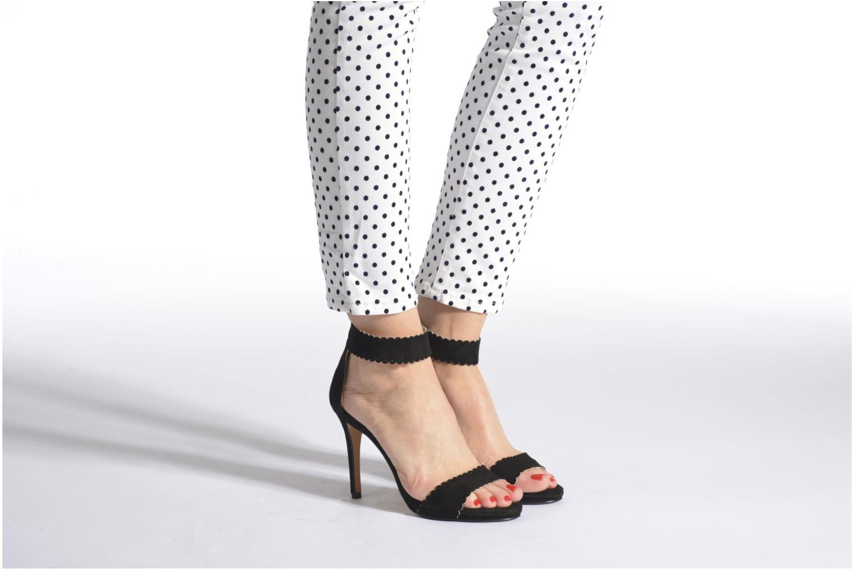 Sandalen Georgia Rose Sandalia schwarz ansicht von unten / tasche getragen