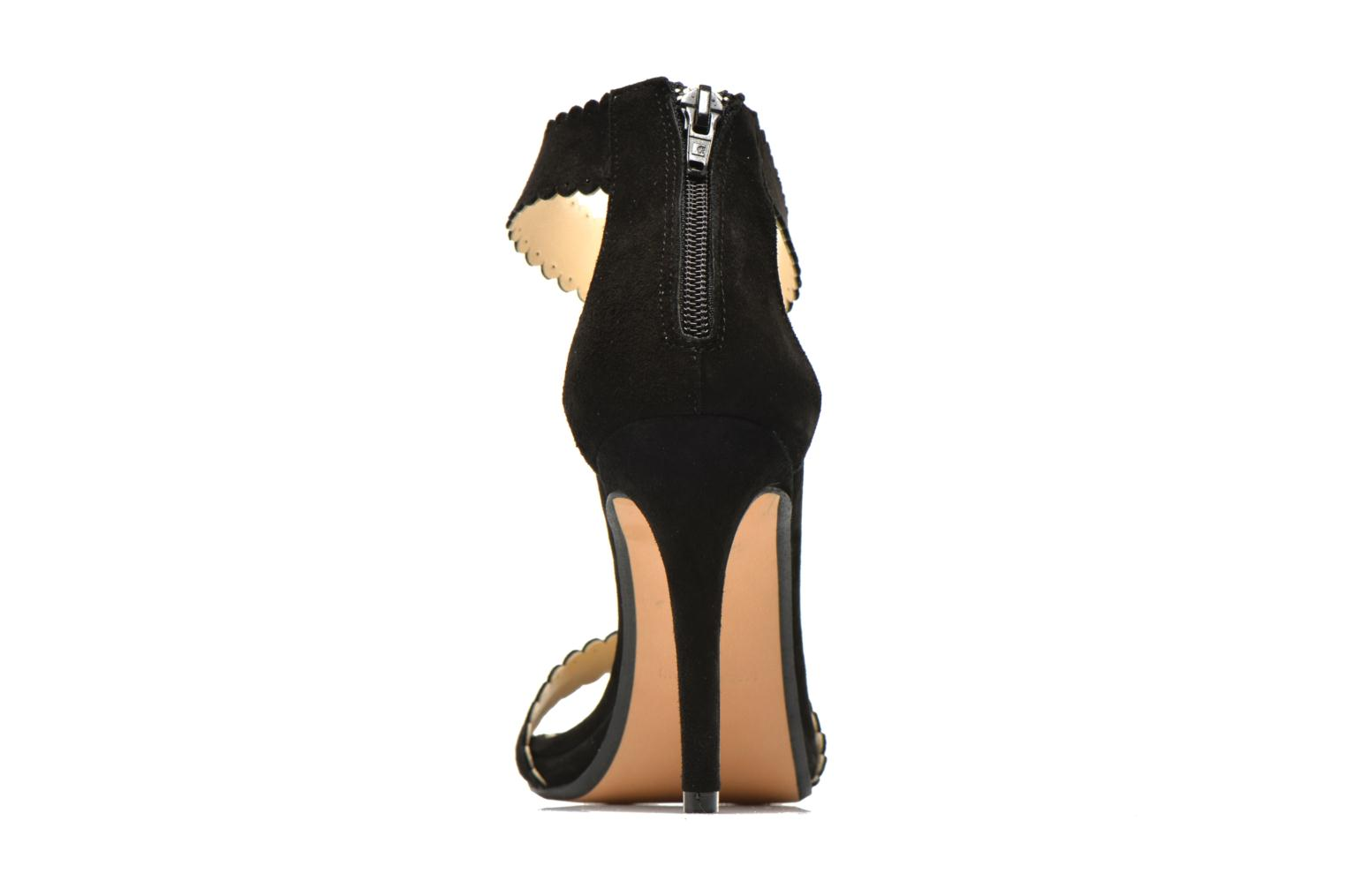 Sandals Georgia Rose Sandalia Black view from the right