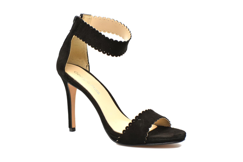Sandalen Georgia Rose Sandalia schwarz detaillierte ansicht/modell