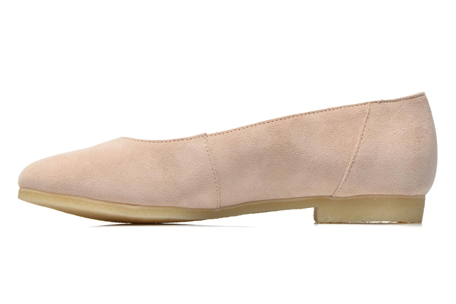 Bailarinas Clarks Originals Ffion Ivy Rosa vista de frente