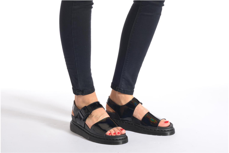 Sandales et nu-pieds Dr. Martens Shore Romi Y strap Sandal Blanc vue bas / vue portée sac
