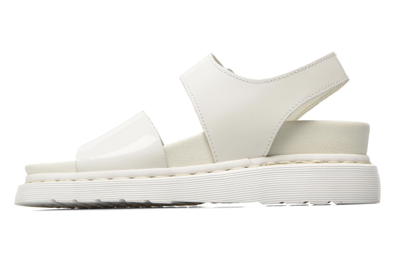 Sandales et nu-pieds Dr. Martens Shore Romi Y strap Sandal Blanc vue face