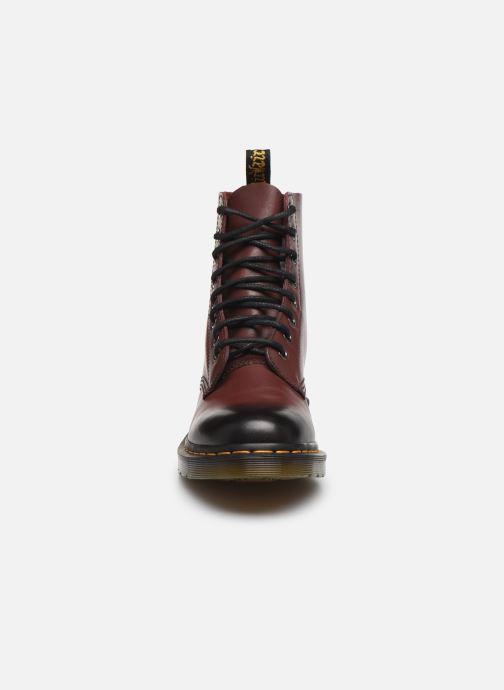Stiefeletten & Boots Dr. Martens 1F66 W weinrot schuhe getragen