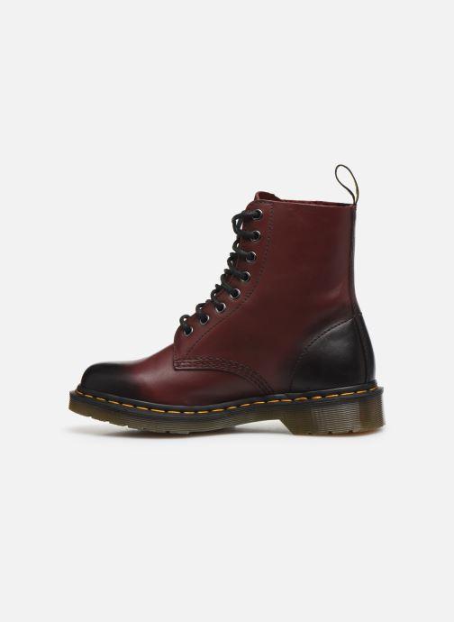 Stiefeletten & Boots Dr. Martens 1F66 W weinrot ansicht von vorne