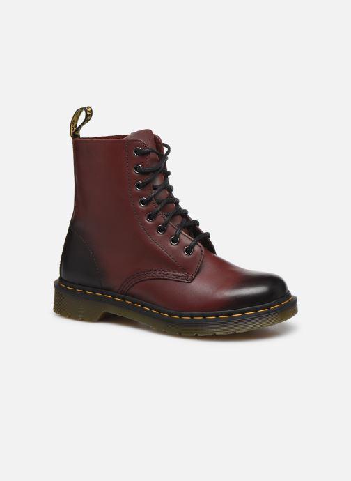 Stiefeletten & Boots Dr. Martens 1F66 W weinrot detaillierte ansicht/modell