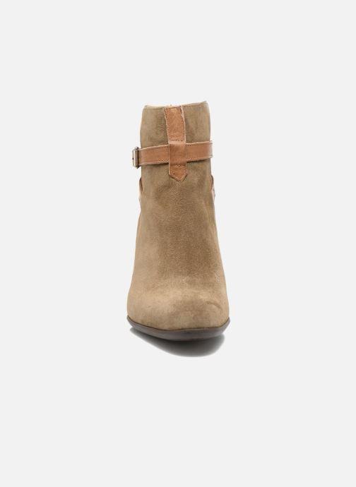 Stiefeletten & Boots Free Lance Balza 7 Boot Strap braun schuhe getragen
