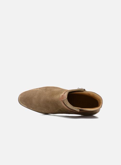 Bottines et boots Free Lance Balza 7 Boot Strap Marron vue gauche