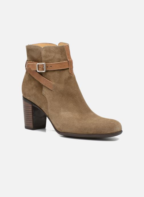 Bottines et boots Free Lance Balza 7 Boot Strap Marron vue détail/paire