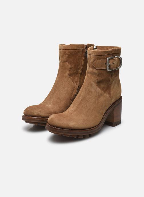 Bottines et boots Free Lance Justy 7 Small Gero Buckle Marron vue bas / vue portée sac