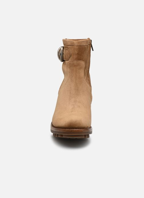 Bottines et boots Free Lance Justy 7 Small Gero Buckle Marron vue portées chaussures
