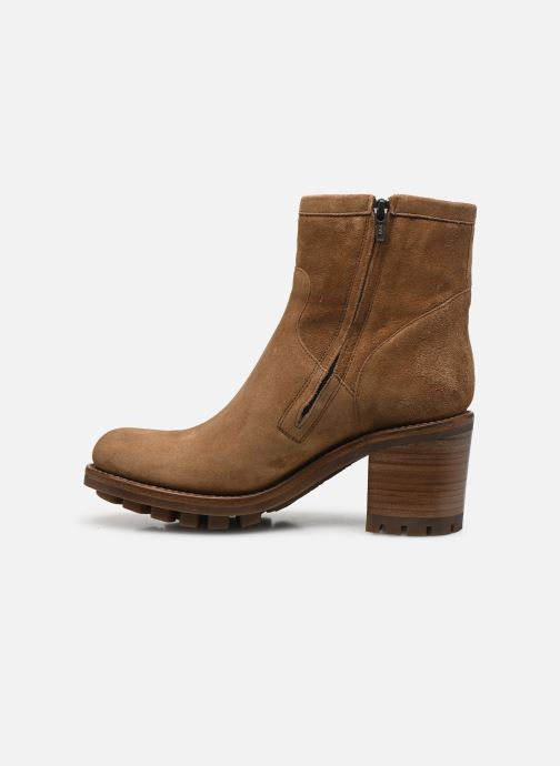 Bottines et boots Free Lance Justy 7 Small Gero Buckle Marron vue face