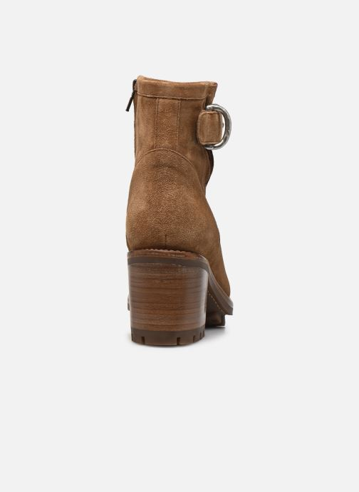 Bottines et boots Free Lance Justy 7 Small Gero Buckle Marron vue droite